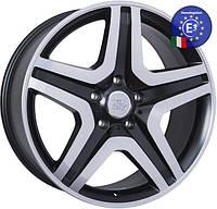 WSP Italy MERCEDES W775 MIYAGI R20 W9,5 PCD5X130 ET50 DIA84,1 DULL BLACK R POLISHED
