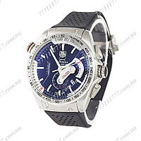 Часы мужские наручные Tag Heuer Grand Carrera Calibre 36 quartz Chronograph Silver