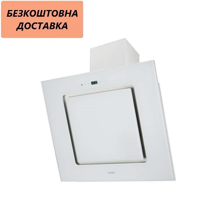 Вытяжка Ventolux TREVI 60 WH (1000) TC IT Наклонная Белая Стекло
