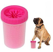 Лапомойка для собак и кошек стакан для мытья лап животных 15 см / 300 мл, фото 2