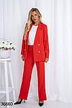 Стильный классический костюм брюки с пиджаком р. 44, 46, 48, 50, фото 3