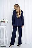 Стильный классический костюм брюки с пиджаком р. 44, 46, 48, 50, фото 4