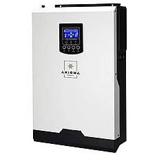 Гибридный ИБП  AXIOMA  5000Вт, 48В + МППТ контроллер 80А, ISMPPT BF (Battery Free) 5000