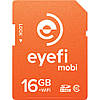 Карта памяти SD Wi-Fi EYE-FI 16 GB Class 10 максимум скорости