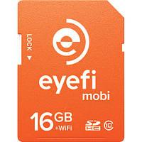 Карта памяти SD Wi-Fi EYE-FI 16 GB Class 10 максимум скорости, фото 1