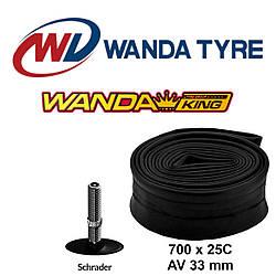 Камера Wanda King 700 x 25C AV 33 мм