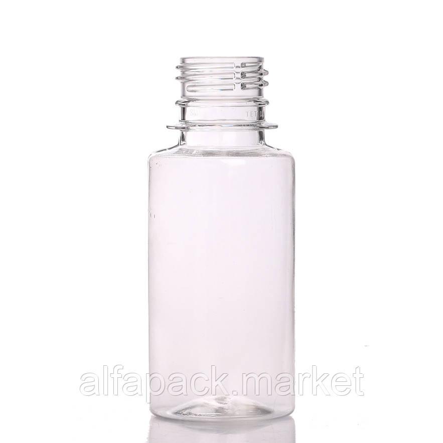 Бутылка пластиковая 100 мл, круглая (378 шт в упаковке) 061100019