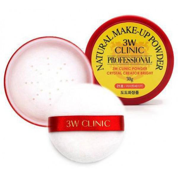 Шелковистая рассыпчатая пудра  Dodo 3W Clinic Natural Makeup Powder 23 тон, 30г