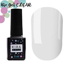 Біо гель Kira Nails Bio Gel Clear (прозорий), 6 мл