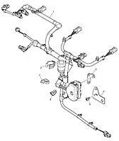 Жгут электропроводки для подкл. Датчиков 3161C061 Perkins, Перкинс, Перкінс, Запчасти Перкинс, Запчасти Perkins, ремонт Перкинс, двигатели Perkins