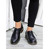 Туфли оксфорды черная натуральная кожа, фото 5