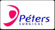 Рассасывающаяся хирургическая нить OPTIME (Викрил) 0,  фиолетовый, 90 см, игла 48 мм, 1/2, Peters (Франция), фото 1