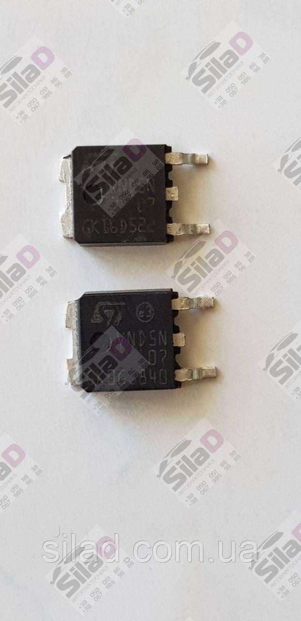 Микросхема VND5N07-E STMicroelectronics корпус DPAK TO-252