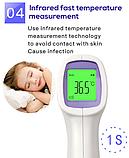 Термометр безконтактный для измерения температуры тела / поверхности / окружающей среды, фото 6