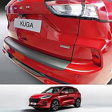 Пластикова захисна накладка на задній бампер для Ford Kuga Mk3 2020+