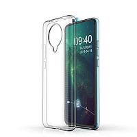 Ультратонкий 0,3 мм чехол на Xiaomi Poco F2 Pro прозрачный