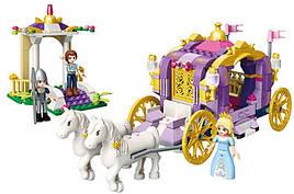 Конструктор Brick 2605 «Карета принцессы» 374 детали