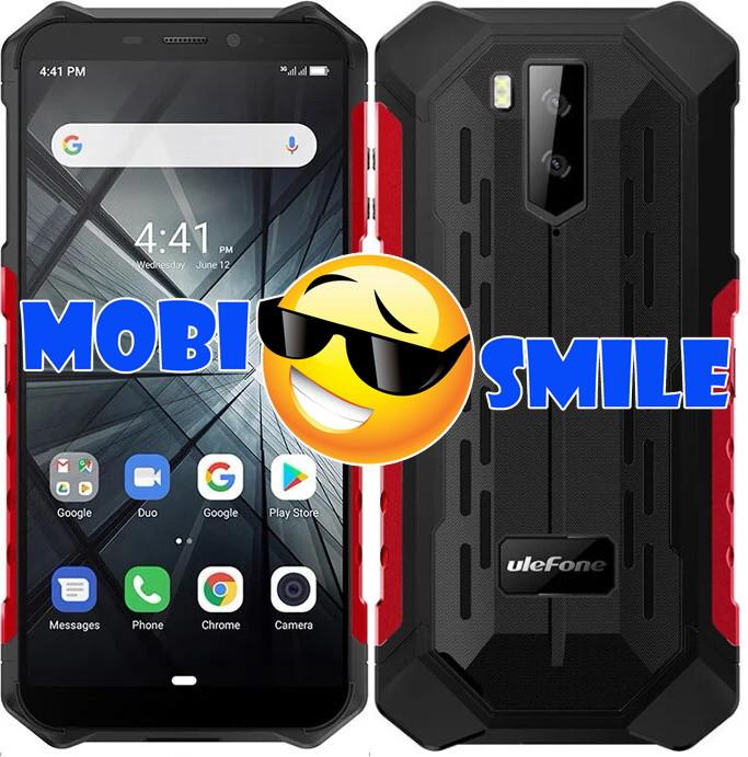 Смартфон Ulefone ARMOR X3 2/32Gb IP68 Red Гарантия 3 месяца