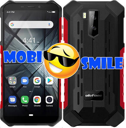 Смартфон Ulefone ARMOR X3 2/32Gb IP68 Red Гарантия 3 месяца, фото 2