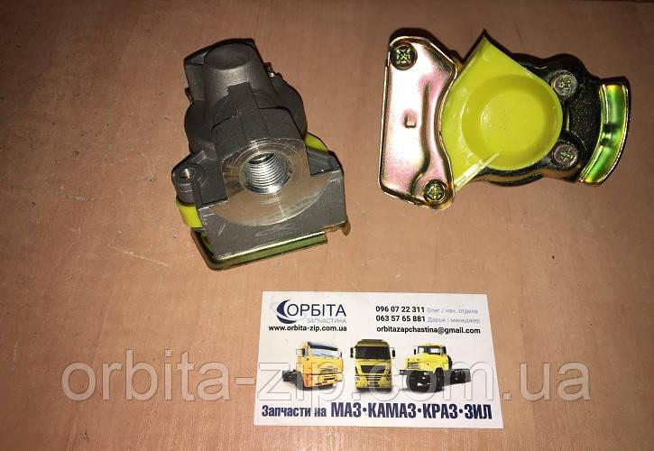 100.3521010 Головка соеденительная М16x1,5 MAN желтая комплект (без клапана+с клапаном)