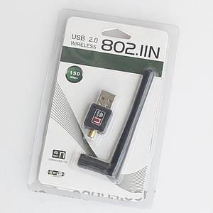 USB WI-FI Адаптер WF-2 802.IIN, (Wi-Fi свисток для беспроводной передачи данных по Wi-Fi - до 150Мбит/с )