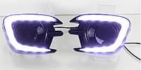 Штатные дневные ходовые огни DRL 1397 (Mitsubishi Pajero Sport, L200)