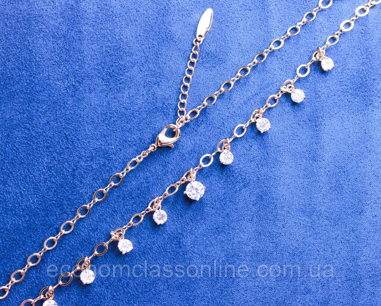 Ожерелье фирмы Xuping позолота  (color 2)