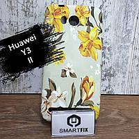 Чехол с рисунком для Huawei Y3 II