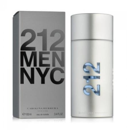 Мужская туалетная вода Carolina Herrera 212 Men NYC,100 мл