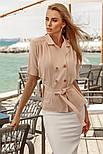 Двубортная блузка-жакет, фото 2