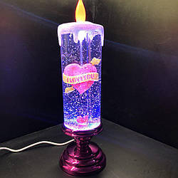 Cвеча лампа Romantic Candle