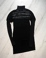 Пплатье  для девочек с длинным рукавом  с горловиной 164 рост