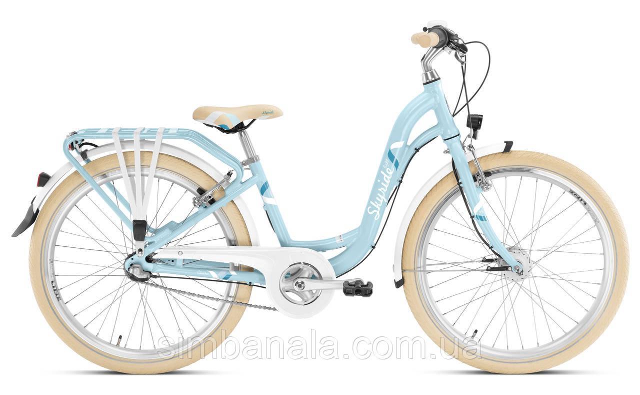 Велосипед Puky SKYRIDE 24-3 LIGHT  Shimano Nexus 3 (cyan)