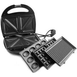 Электрогриль Rainberg RB-5408 4в1 (гриль, бутербродница, вафельница, орешница) 2200Вт