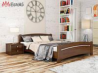"""Кровать двуспальная """"Венеция"""" 160х200 см. Эстелла (щит бука)"""