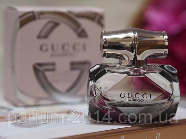 Женский парфюм гуччи бамбу Gucci Gucci Bamboo 75 мл (лиц.) аромат запах духи аналог, фото 2