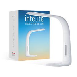 Функциональный настольный LED светильник Intelite (белый) 3000-5600K (500Lm) DL1-7W-WT