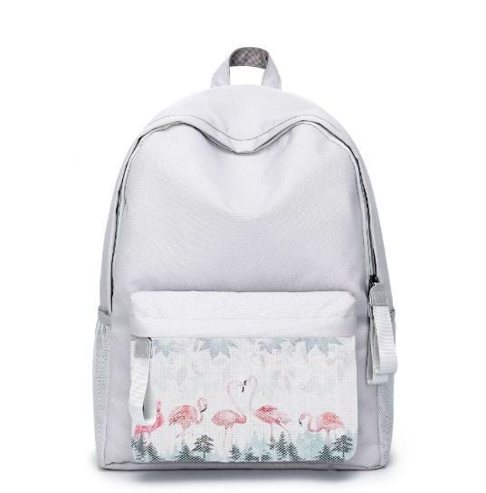 Рюкзак с принтом Фламинго
