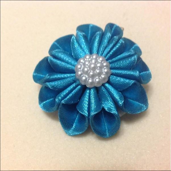 Магніт Квітка №2 синій