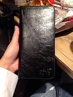 Стильный мужской клатч портмоне MontBlanc (черный)