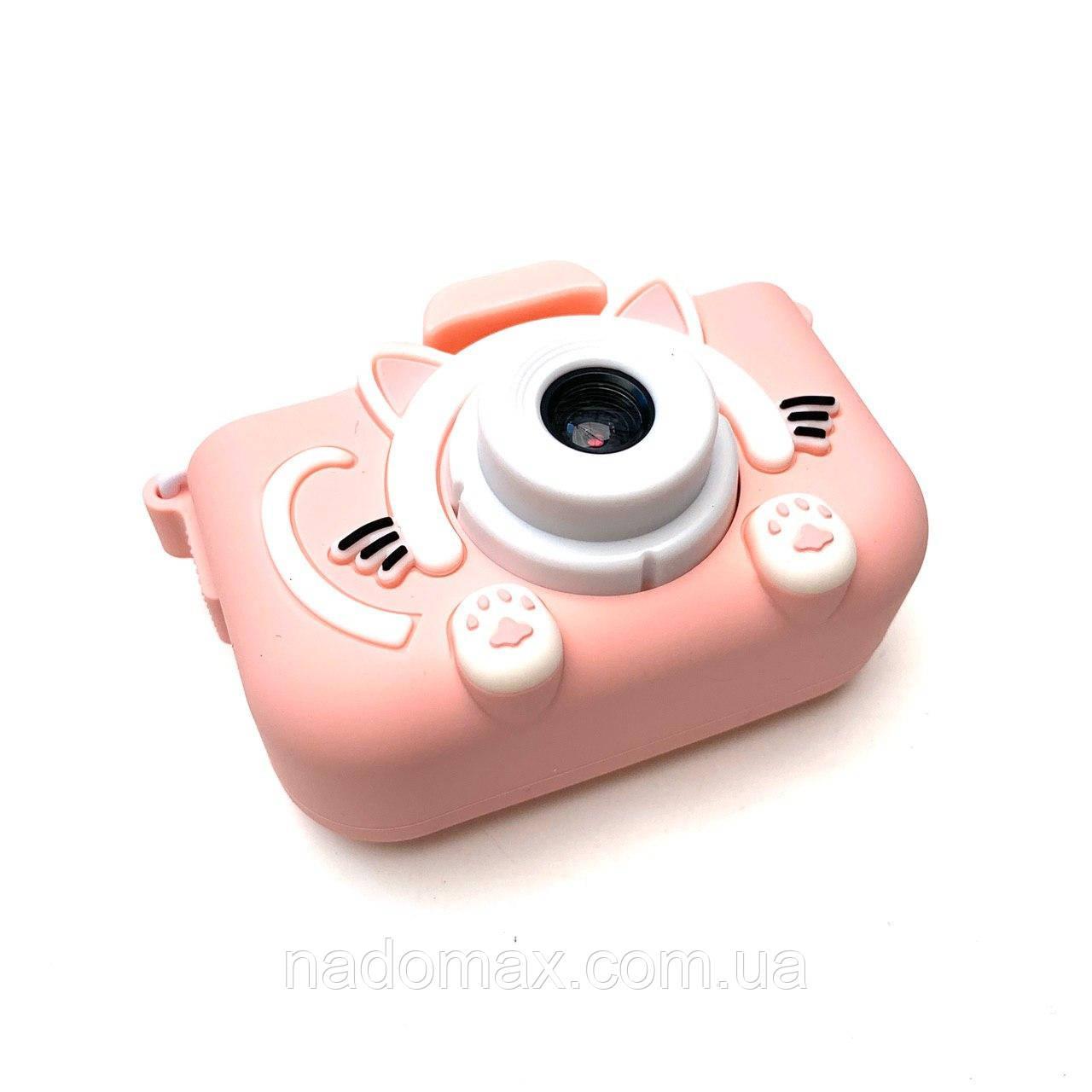Детский фотоаппарат в чехле+карта памяти 16Gb в подарок