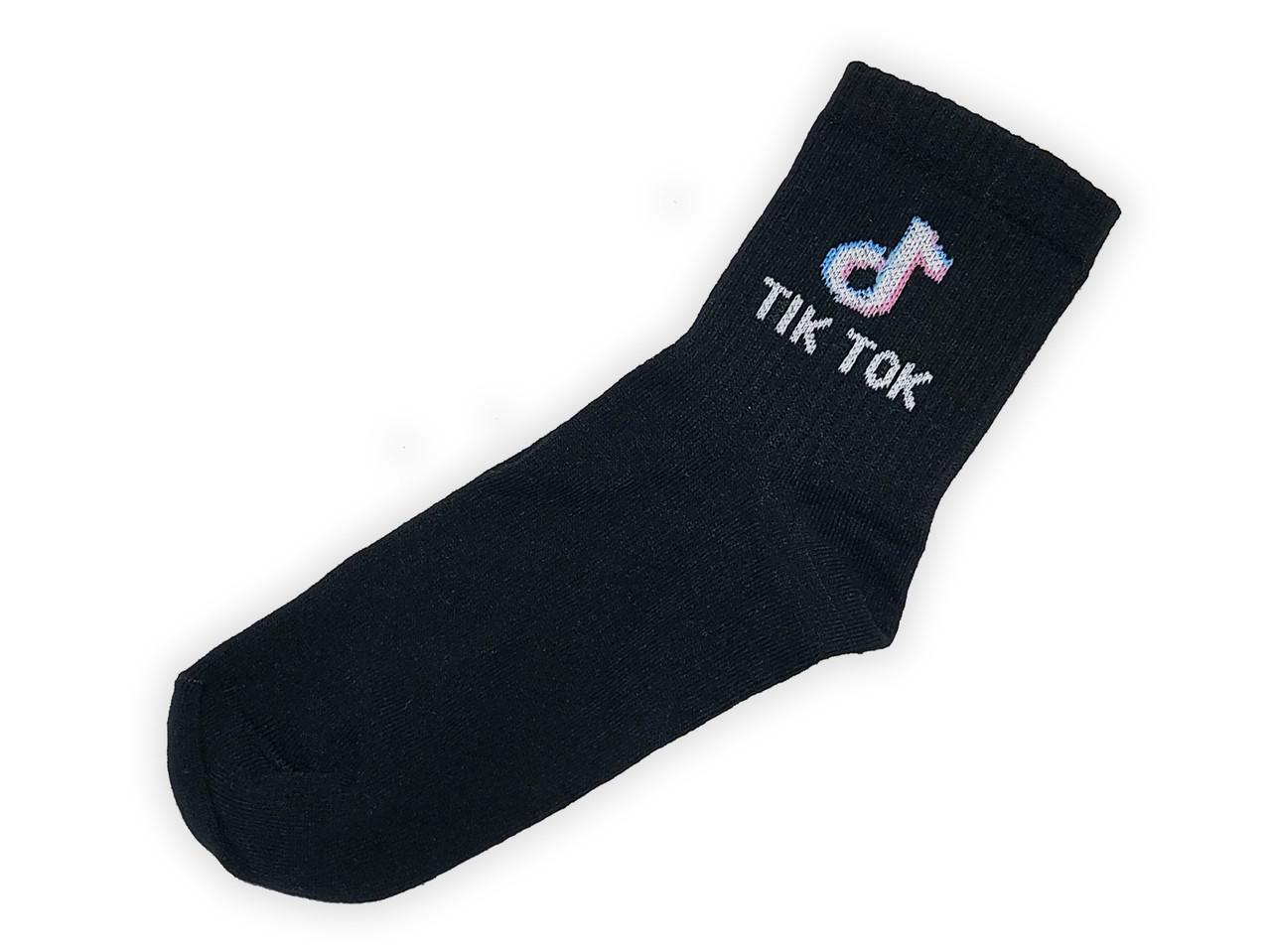 Носки Rock'n'socks Tik Tok чёрные