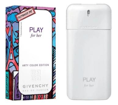 Женская парфюмированная вода Givenchy Play for Her Arty Color Edition, 75 мл