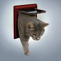 Trixie (Трикси) 2-Way Cat Flap Дверца для кошек пластик 21 × 21 см
