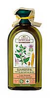 Шампунь Зеленая Аптека Лопух большой и протеины пшеницы - 350 мл.