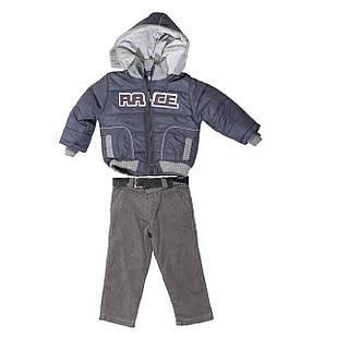 Демисезонная куртка и штаны для мальчика, размеры 4 года, 5 лет