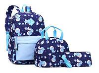 Рюкзак с принтом Динозаврики, фото 1