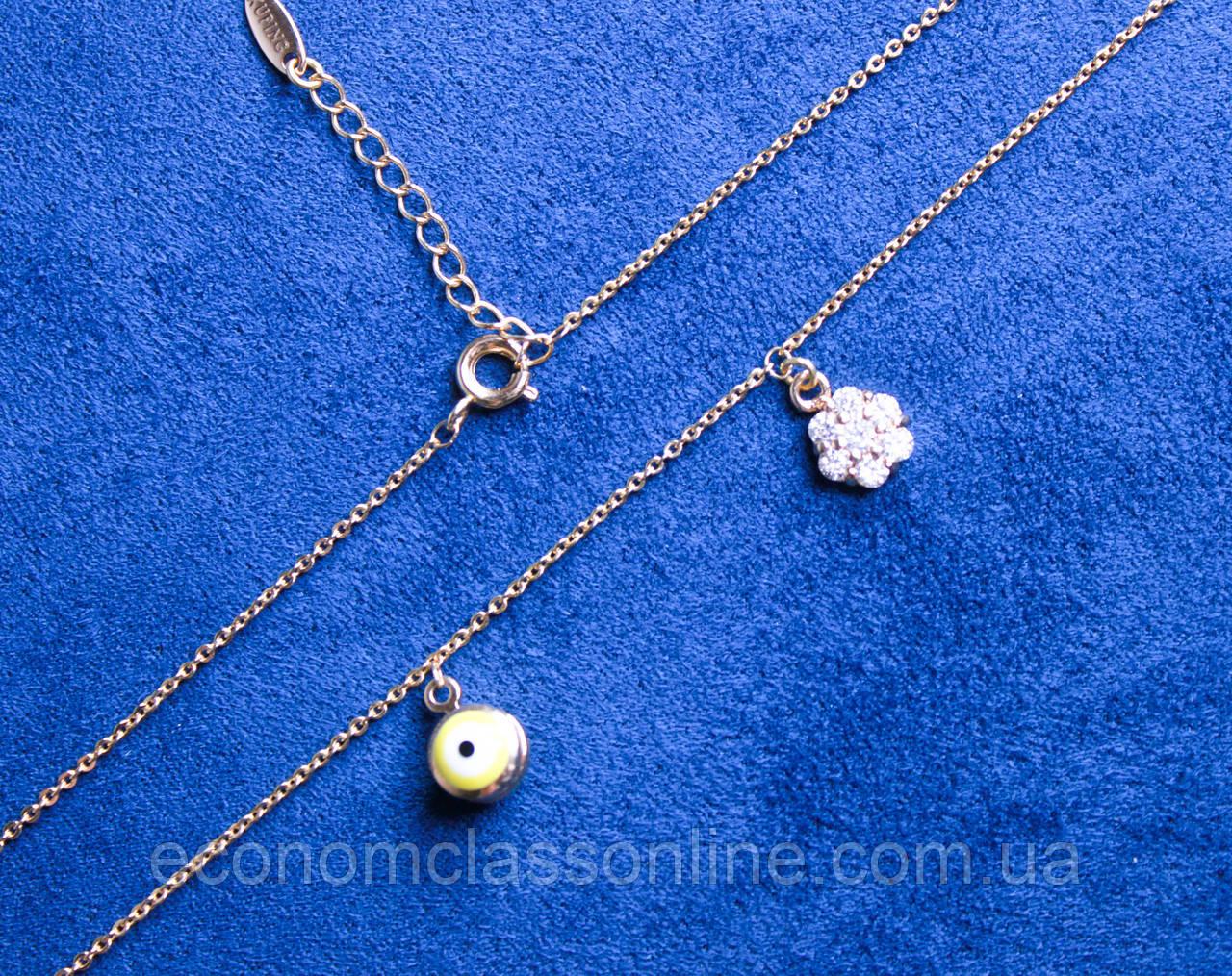 Ожерелье фирмы Xuping с кулонами (color 4)