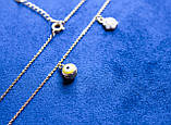 Ожерелье фирмы Xuping с кулонами (color 4), фото 4