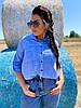 Коттоновая рубашка с карманами, фото 5